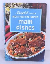 VTG 1975 Campbell Cookbook Most For The Money Main Dishes