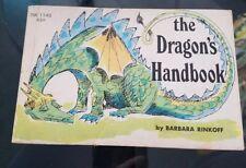 The Dragon's Handbook, Barbara Rinkoff, Scholastic Softcover, 1st Printing, 1967