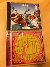 TIME LIFE MUSIC Summer Of Love The Hits 1967 BRAND NEW 2 CD SET +BONUS 1968 Rock