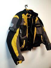 Proto Designer Mens Biker Jacket Size XS Padded Elbow Shoulder Back Protection