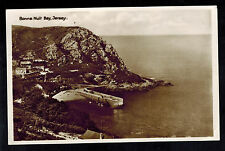 1941 Occupied Jersey England Picture Postcard Cover Bonne Nuit Bay Rppc