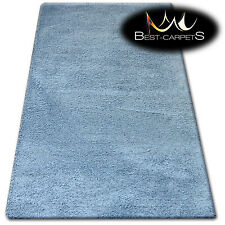 """AMAZING SOFT & THICK RUG SHAGGY """"MICRO"""" Polyester Grey HIGH QUALITY carpets"""