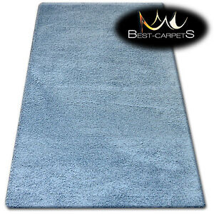 "AMAZING SOFT & THICK RUG SHAGGY ""MICRO"" Polyester Grey HIGH QUALITY carpets"