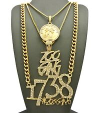 NEW FETTY WAP 1738 ZOO GANG CHAIN SET.