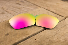 Bright Metallic Pink Polarized Mirrored Replacement Lenses for Oakley Holbrook