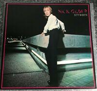 NICK GILDER - City Nights [Vinyl LP, 1978] UK CHR 1202 Album Glam Rock EX/EX