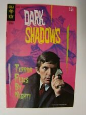 1970 Dark Shadows #7 Barnabas Collins Tv Show Photo Cover Gold Key Comics Fn/Vf