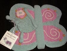 Baby First Photo Newborn Girls Boys Crochet Knit Butterfly Costume Set with Hat