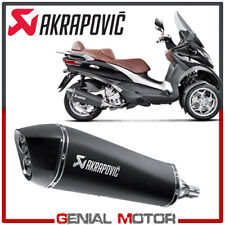 Exhaust Inox Approved Muffler Akrapovic for Piaggio MP3 500 LT 2008 > 2016