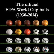 FIFA WORLD CUP MATCH BALL SET (adidas Telstar, Tango, Azteca, Etrusco, Jabulani)