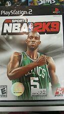 NBA 2K9 (Sony PlayStation 2, 2008)