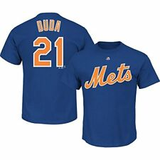 New York Mets T-Shirt Lucas Duda #21 Majestic Youth 8 - 20 Performance Player