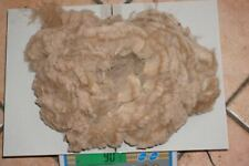 FREE RANGE 100% RAW NORTHERN ARIZONA ALPACA FIBER 90 GRAMS BEIGE PRIME BLANKET!!