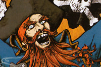"36x54"" Poster Pirates of the Caribbean 1982 Walt Disney World Redhead FULL SIZE"