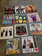 "Bananarama 7"" Vinyl Single x11 want you back, Venus, Robert De Niro, help"