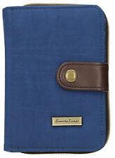 SWANKYSWANS Womens Riley Nylon Small Flip Wallet Dark Blue