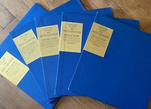COLH 6-10 Beethoven Complete Violin Sonatas / Fritz Kreisler / Franz Rupp 5 LP