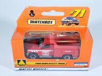Matchbox #71 Ford Dump Utility Truck Red Window Box NEW NIB 1999