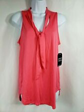 Almost Famous Watermelon pink Size M Tie Blouse Summer Classy Dress wear
