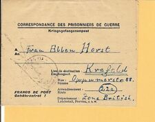 A partir de/5/xi.46 esplendor-kriegsgef. - Formulario-carta con contenido de toulon tras Krefeld