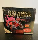 Factory+Sealed+1993+Marvel+Masterpieces+Trading+Card+Box+-+Skybox+%2836+packs%2Fbox%29