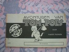 VERY RARE Collectible Avonturen van Tom Poes door Marten Toonder deel 2  De tove