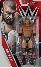 Triple H HHH WWE Mattel Basic 69 - Brand New Action Figure Toy - Mint Packaging