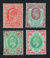 CKStamps: Great Britain Stamps Collection Scott#128 129 133 138 Mint H OG