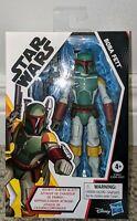 "Hasbro Star Wars Galaxy of Adventures Boba Fett 5"" Rocket Firing Animated Figure"