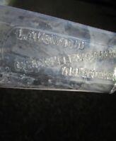 c.1900 Antique Pharmacy Med Bottle: GRENELLE & SCHANCK, LAKEWOOD ALLENHURST NJ