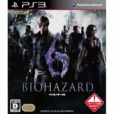 Used PS3 Resident Evil 6 Japan Import