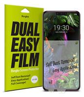 For LG G8 ThinQ Screen Protector Ringke [Dual Easy Film] Clear Full Cover [2PCS]