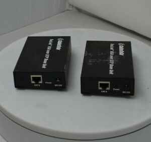 Lot of 2*CABLES TO GO TruLink VGA over UTP Base Unit Extender SEE NOTES