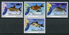 Ethiopia 2016 MNH Fishes Lake Tana Labeobarbus 4v Set Fish Stamps
