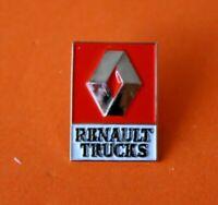 Pin's Pins lapel Pin enamel  RENAULT TRUCKS CAMION LOGO Argenté en RELIEF