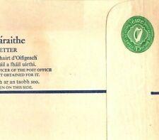 Ireland EIRE Unused Registered Postal Stationery 1/5 Green Size K Cat €80 GR2