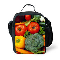 Student Lunch Bag Insulated Tote Kids Outdoor Picnic Bags School Lunchbox Food