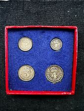More details for great britain, george vi, silver maundy coin set 1950, in original box, ot77