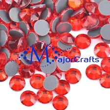 1440pcs Light Red Siam 2mm ss6 Flat Back Glass DMC A+ Hotfix Rhinestones C23