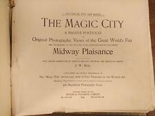 The Magic City by J.W.Buel A Photograph Portfolio of the Chicago World Fair 1894