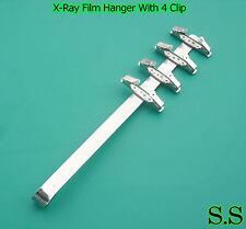 3 Dental X-ray Film Hanger With 4 Clip (Dental Supply)