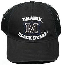 NEW! University of Maine Black Bears Snap Back Hat 3D Embroidered Mesh Back Cap
