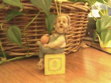 Cairn Studio Tom Clark Gnome ~ Alphabet ~ O ~ Orange! Farmer Rare # 1 Christmas!
