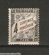 TIMBRE TAXE - 1881-92 YT 13 - TIMBRE NEUF* trace de charnière