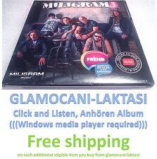 CD MILIGRAM 3 LUDI PETAK ALBUM 2013 MTEL IZDANJE Srbija Bosna Hrvatska muzika