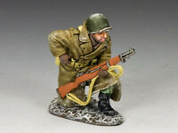 KING AND COUNTRY Infantry Support Kneeling Loading Rifle WW2 BBA61 BBA061