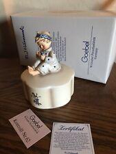 """Hummel Music Box """"Blossom Time"""" Hum Iv/608 Trademark 7 w/Orig Box"""