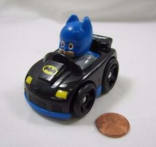 Fisher Price Little People WHEELIES BATMAN from DC Super Friends Comics Rare!