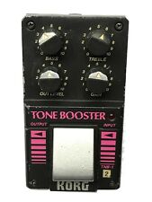 Korg TNB-1, Tone Booster, RARE, Made In Japan, 1980's, Vintage Guitar Effect Ped