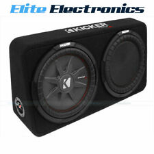 "KICKER 43TCWRT124 COMPRT 12"" 4 OHM SEALED SUBWOOFER ENCLOSURE"